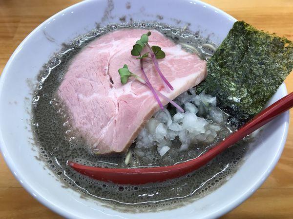 「ヤバニボ  醤油  970円」@めんや天夢の写真