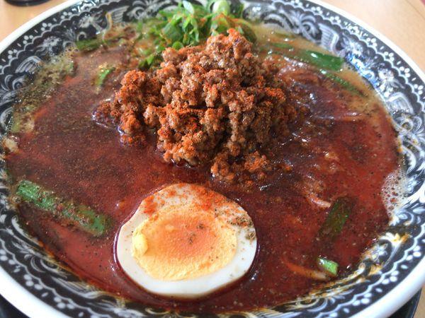 「濃厚担々麺850円」@麺肴ひづき あさのやの写真
