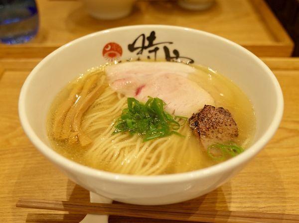 「塩蕎麦…820円」@中華蕎麦 時雨の写真