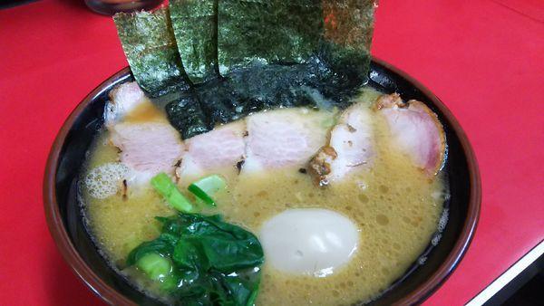 「チャーシュー麺¥850+味玉¥100」@田上家の写真