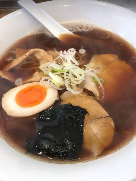 「煮干しらー麺(醤油)」@麺屋えんの写真