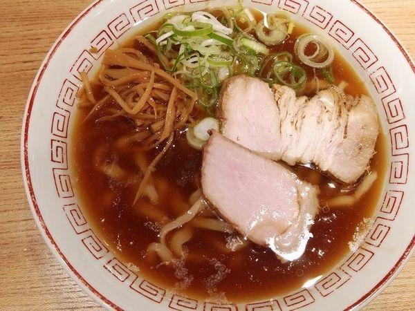 「中華そば(小・醤油)」@超多加水自家製手揉麺 きたかた食堂の写真