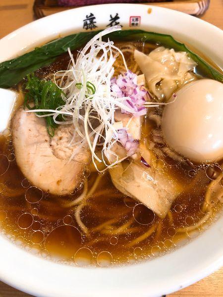 「特製らぁ麺 (醤油)¥980」@支那蕎麦屋 藤花の写真