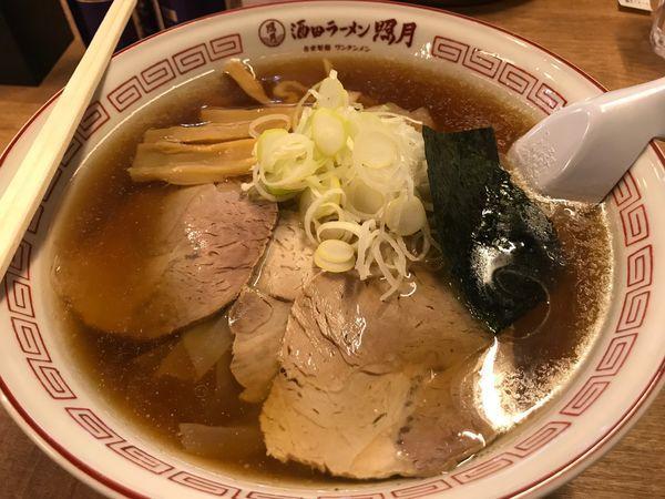 「ワンタン麺 太麺 大盛り」@酒田ラーメン 照月の写真