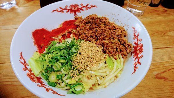 「汁なし担々麺(並)」@自家製麺 てんかの写真