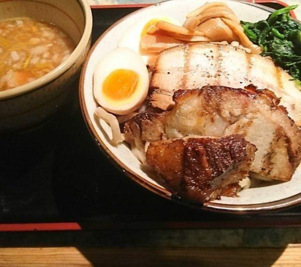 「特製角ふじつけ麺 ゆず」@麺屋こうじの写真