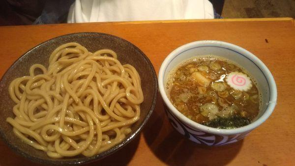 「お魚つけ麺 730円」@自家製麺 えなみの写真
