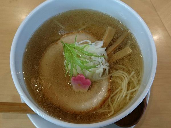 「塩らーめん」@麺処 春の風の写真