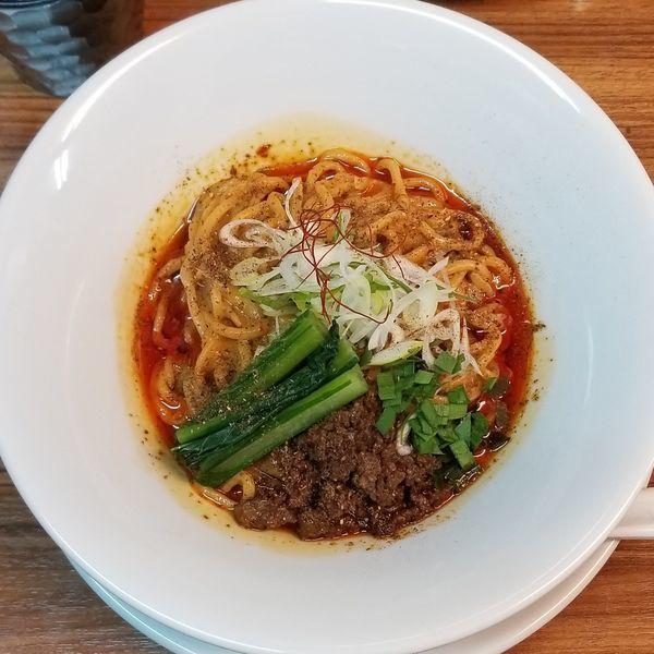 「汁なし担々麺880円」@kingyo noodlesの写真