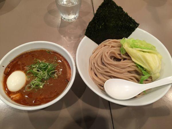 「海老味噌つけ麺 全部入り」@つけ麺 五ノ神製作所の写真