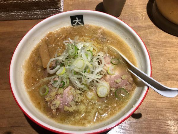 「味噌チャーシュー+大盛り」@大島の写真
