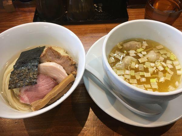 「特選塩つけ麺」@塩らーめん 千茶屋の写真