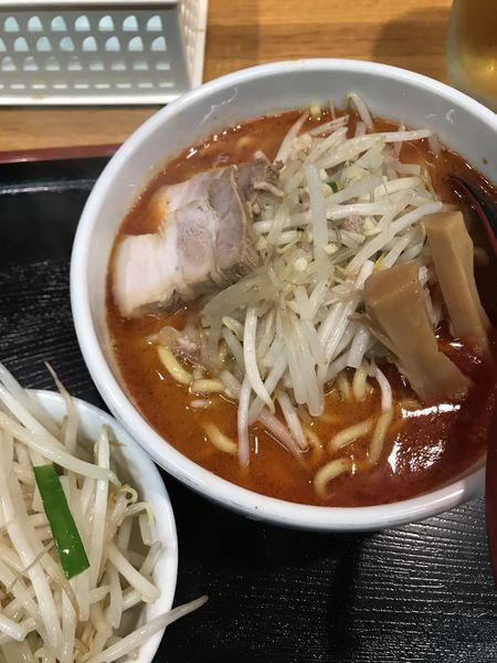 「辛味噌ラーメン」@味噌麺処 花道の写真