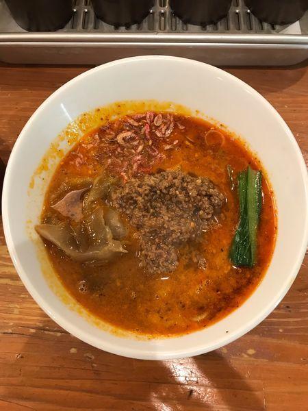 「担々麺・大辛 850円」@担々麺 ほおずきの写真