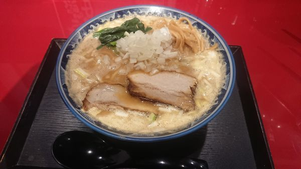 「魚介味噌ラーメン 740円」@麺屋 むろかわの写真