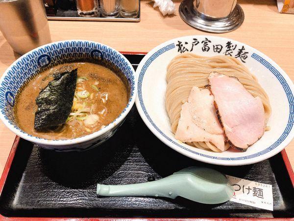 「濃厚つけ麺」@松戸富田製麺 ららぽーとTOKYO-BAY店の写真