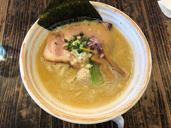 「鶏そばプレミアム(塩)」@らーめん 二代目吉田商店の写真