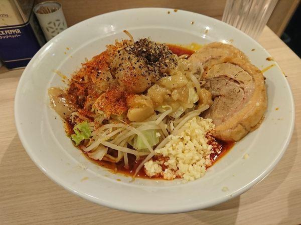 「ラーメン(辛)」@麺屋 味方の写真