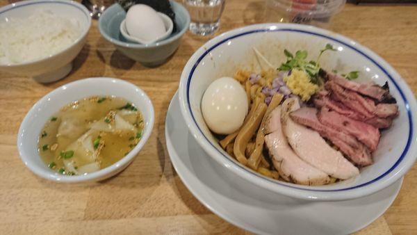 「特製油そば醤油」@手打式 超多加水麺 ののくらの写真