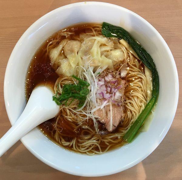 「ワンタン麺」@支那蕎麦屋 藤花の写真