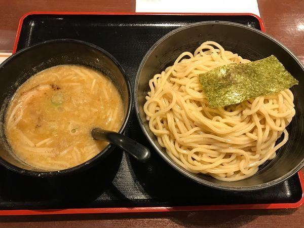 「味噌つけ麺 中」@らーめん えん者の写真