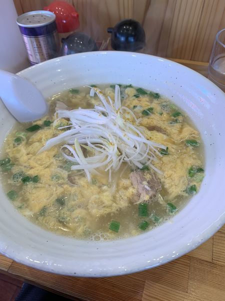 「ニラタマ」@拉麺食道の写真