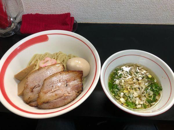 「アゴ出汁つけ麺」@自家製麺SHINの写真