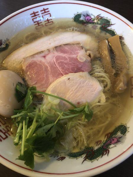 「気まぐれ たまらん 塩」@つけ麺 弥七の写真