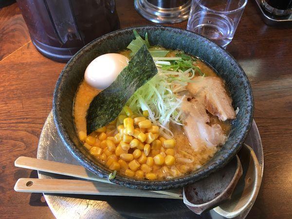 「味噌拉麺」@中華そば 坂東 山口屋の写真
