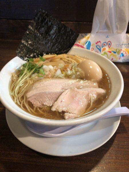 「淡麗アゴだしそば」@麺や 松辰の写真