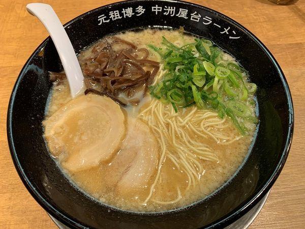 「とんこつラーメン」@元祖博多中州屋台ラーメン 一竜 御茶ノ水北店の写真