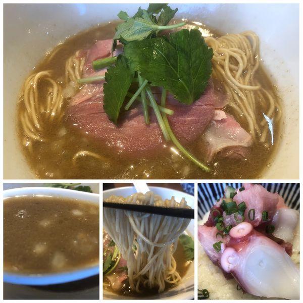 「【限定】愛媛県産煮干しの中華そば 750円 海鮮丼」@寿製麺よしかわ 川越店の写真