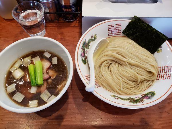 「濃厚昆布水の淡麗つけ麺」@麺処 ほん田の写真