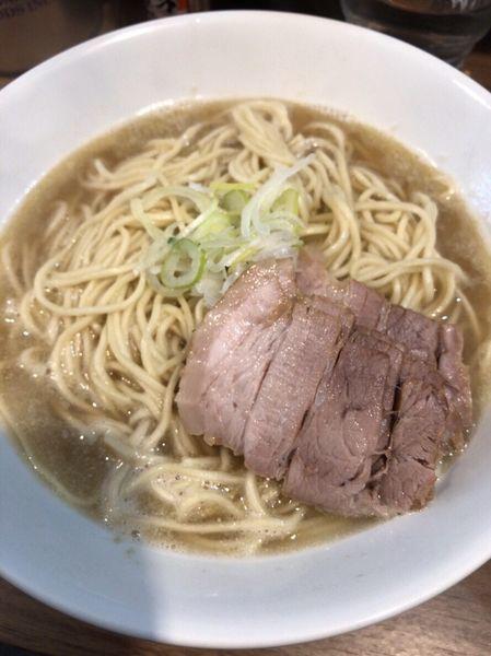 「肉そば」@自家製麺 伊藤 浅草店の写真