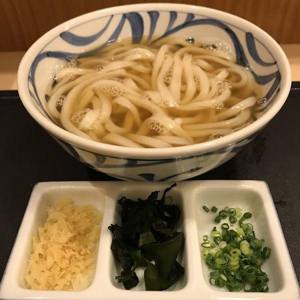 「かけ(¥600)」@もり家 東京店の写真