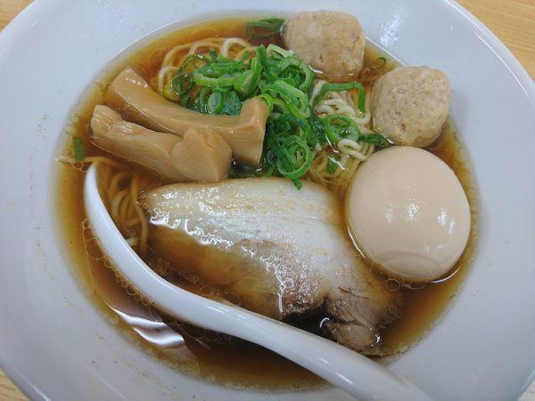 「味玉らーめん(醤油)」@らーめんダイニング 庵の写真