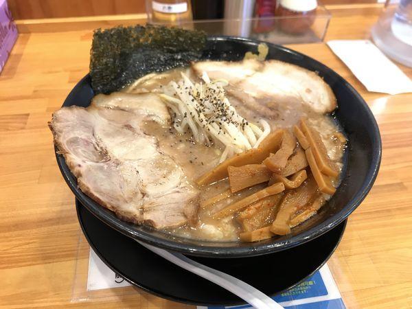 「とこ豚骨【ドラゴン麺】」@麦笑 豊田店の写真