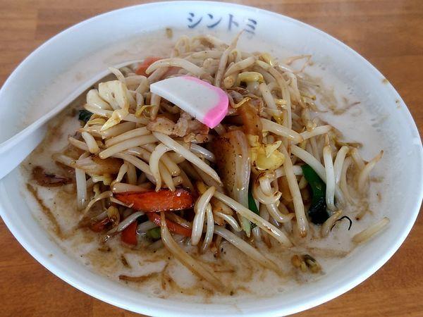 「濃厚タンメン(並盛・150g)810円」@極濃湯麵シントミの写真