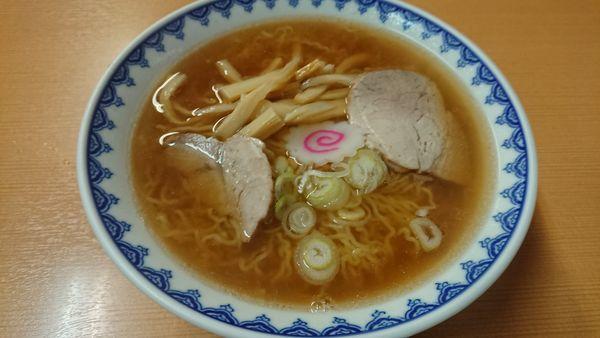「中華そば (大盛) 700円」@ラーメン 三吉屋の写真
