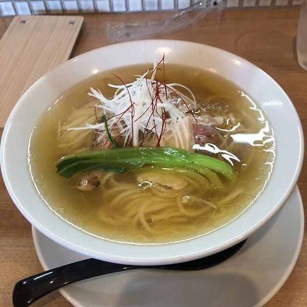 「KOTOHOGIラーメン(魚介鶏塩ラーメン)」@MEN-YA KOTOHOGIの写真