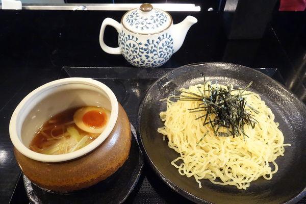 「醤油つけ麺」@麺処 松。の写真