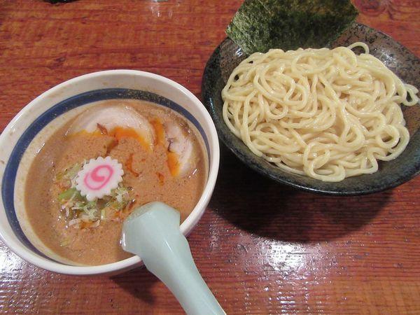 「ごまつけ麺(850円)+チャーシュー300円」@常勝軒 かすみがうら店の写真