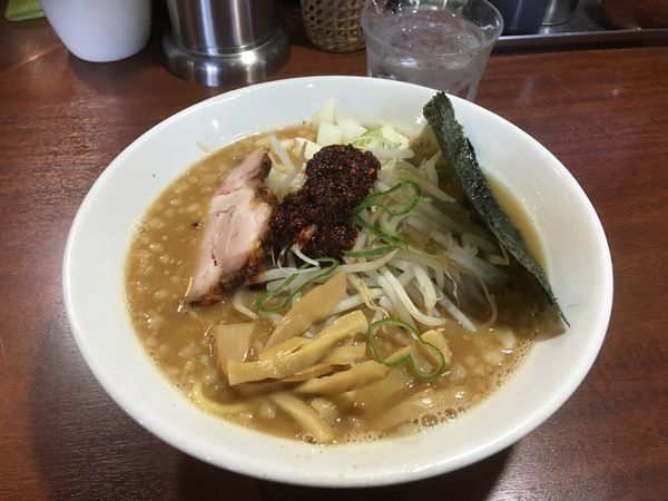 「辛味噌ラーメン」@伝家の写真