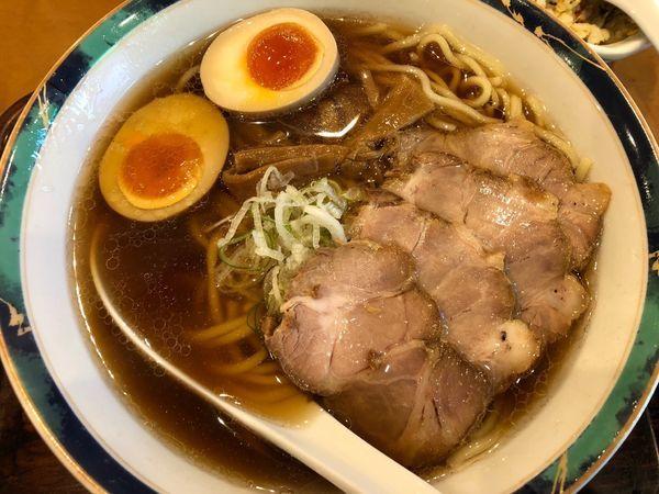 「煮玉子ちゃーしゅー麺」@好日の写真