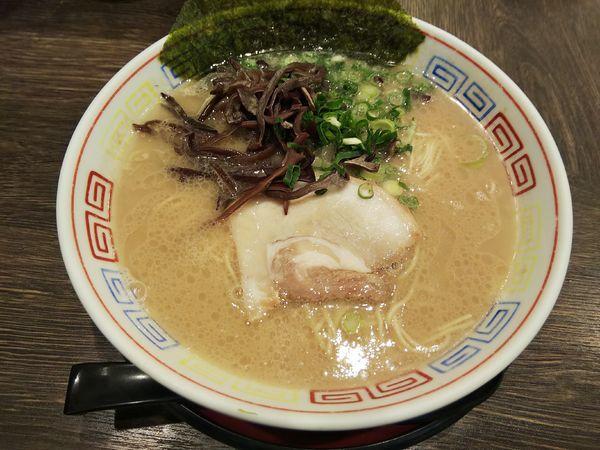 「白豚骨 醤油(¥700)」@つけ麺 中華そば 節 府中店の写真