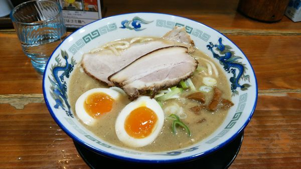 「ごく煮干し+味玉」@長尾中華そば 東京神田店の写真