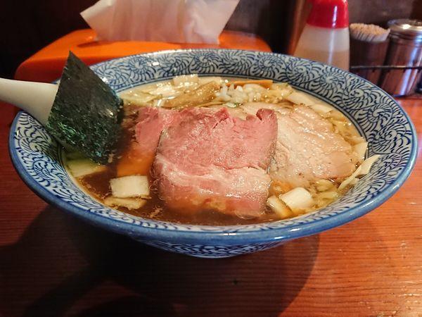 「ちゃーしゅー手揉み中華そば(醤油・手揉み麺)」@麺処 ほん田の写真