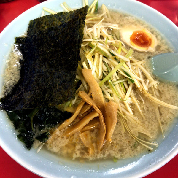 「ネギラーメン790円 半麺-50円」@ラーメンショップ 太田店の写真