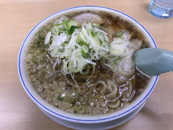 「老麺」@安福亭 柏町本店の写真