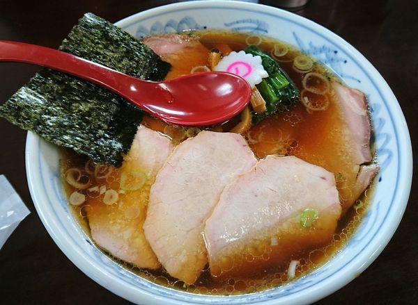 「焼豚麺」@とら食堂 松戸分店の写真